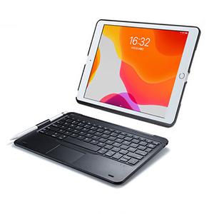 2019年版10.2インチiPad専用ケース付きのタッチパッド内蔵Bluetoothキーボードを発売